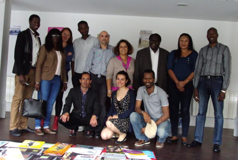 Des membres du COSIM Aquitaine et leurs homologues d'autres régions lors de la réunion inter-COSIM à Bordeaux (2015)