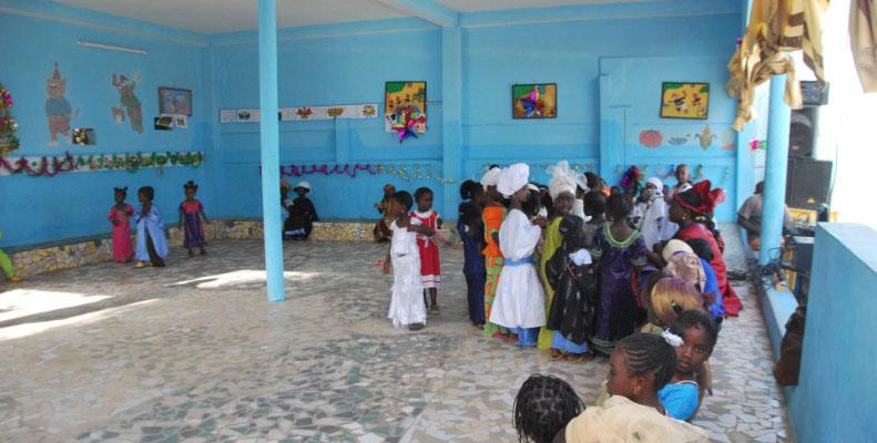 Projet de l'association AQAFI : rénovation d'une école au Sénégal