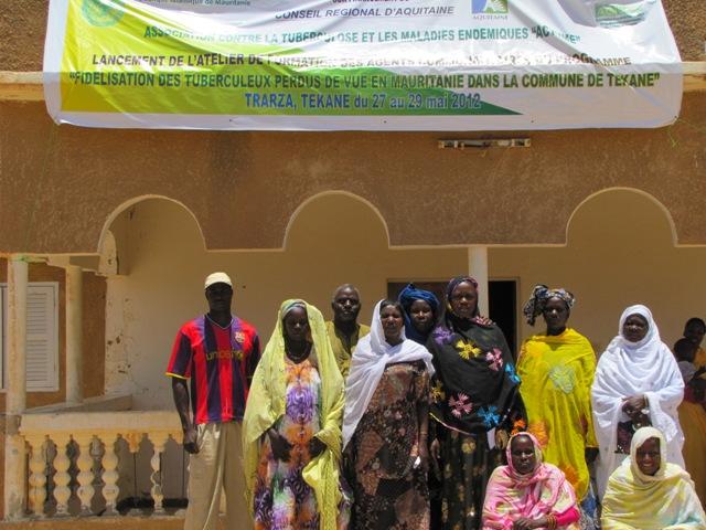 Formation des agents communautaires à Tékane - Juillet 2012