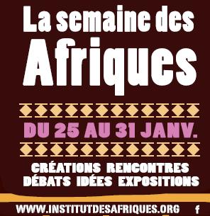 SEMAINE DES AFRIQUES 2016